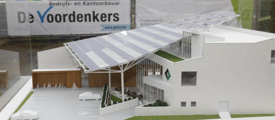 3D print Bouwcampus uit BIM Mathieu Gijbels